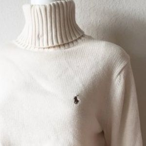 RALPH LAUREN Vintage '90s Knit Turtleneck